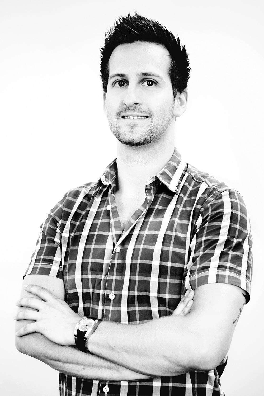 Mathieu Bouchard, directeur artistique et fondateur de Boumgrafik