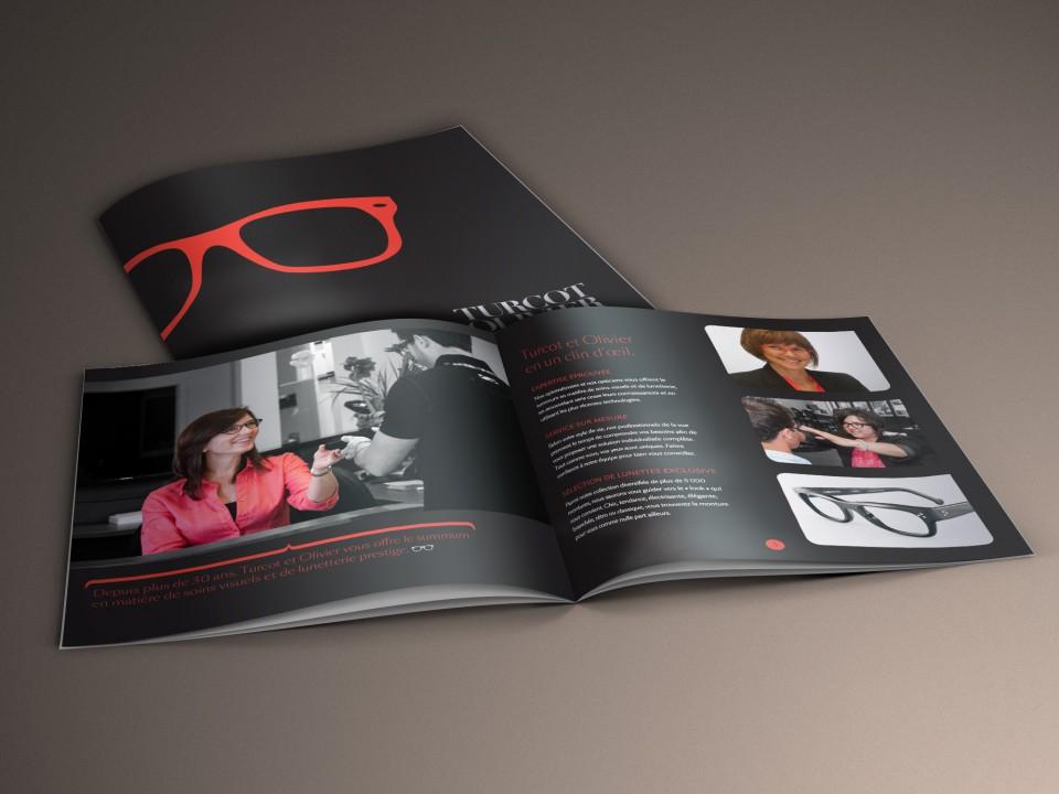 Turcot Olivier Optométristes – Image de marque