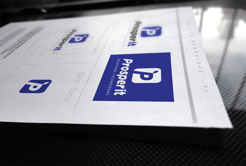 ProsperIT – Image de marque et site Web