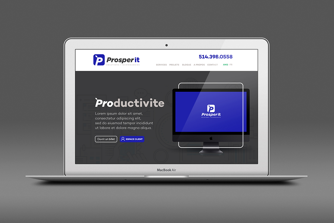 ProsperIT – Branding and Website
