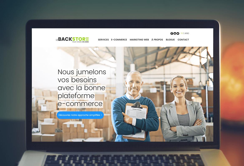 Agence Le Backstore – Image de marque et branding Web