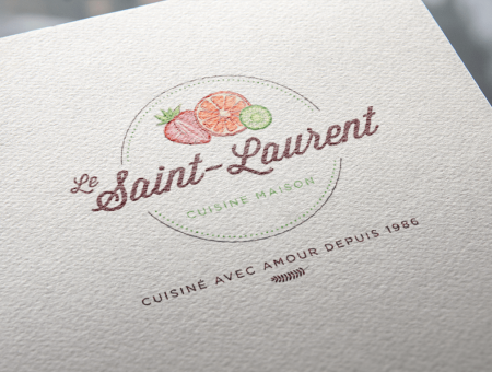 Restaurant Le Saint-Laurent – Brand image