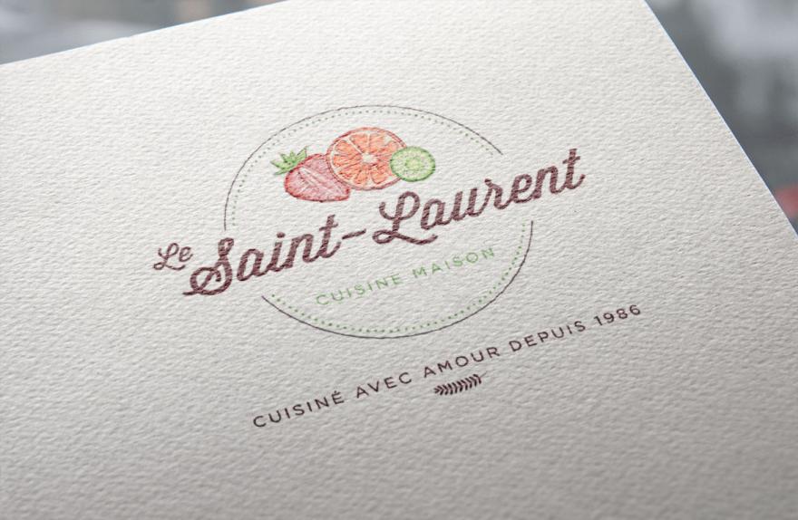 Restaurant Le Saint-Laurent – Image de marque