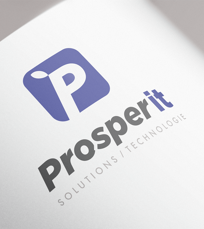 Conception d'un logo ProsperIT Solutions