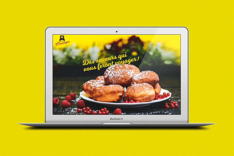 Pâtisserie La Germanique – Image de marque