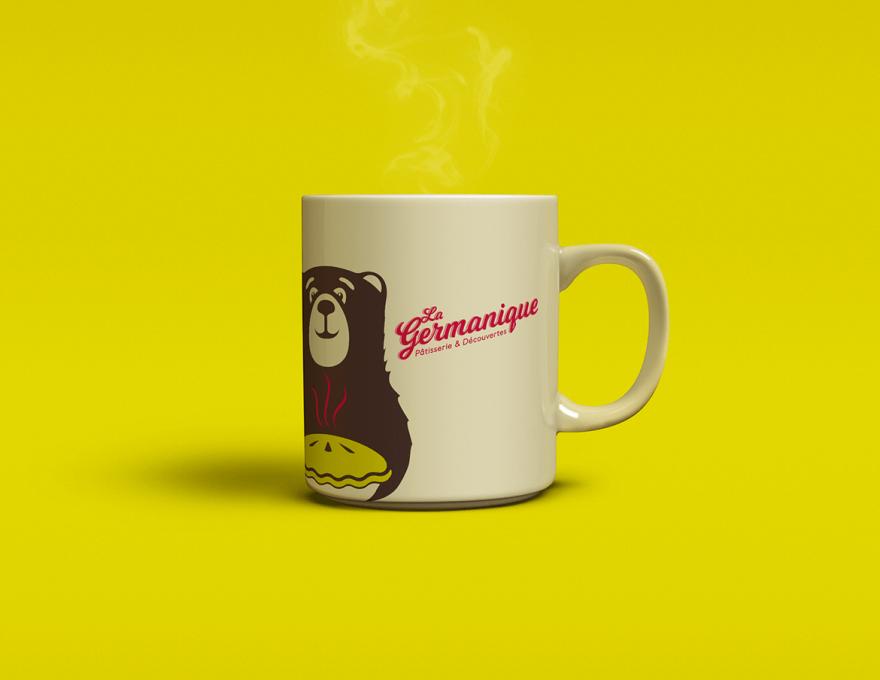 Pâtisserie La Germanique – Brand image