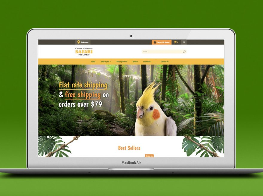 safari-pet-center-website