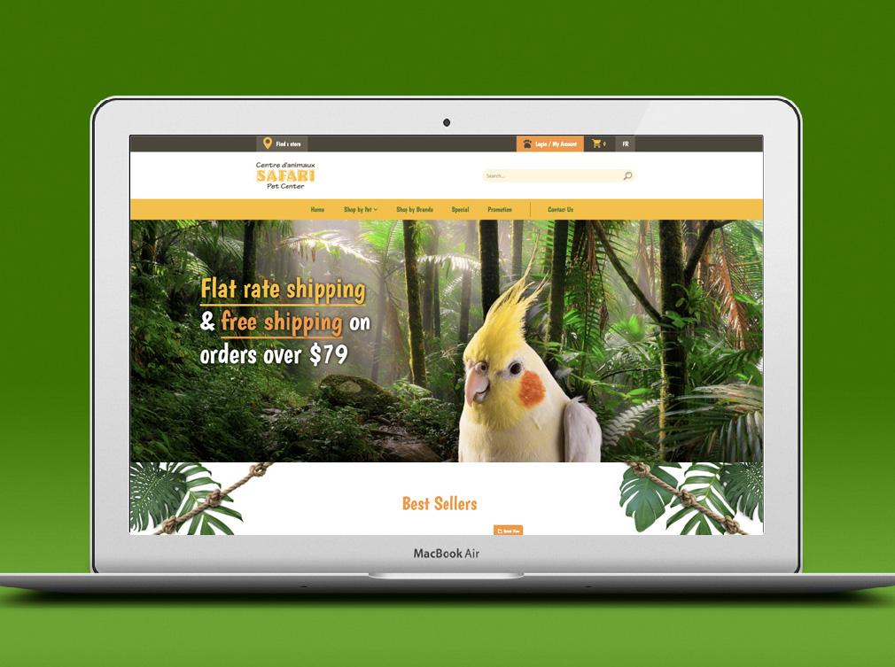 safari-pet-center-website